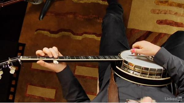 Playing with others: Part 2, beginning backup: Banjo Lessons with Tony Trischka: 2 Hammer-Ons and Pull-Offs