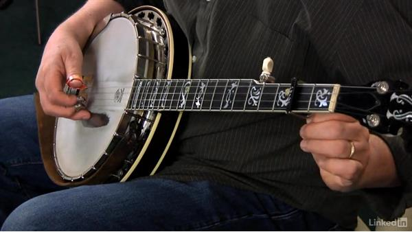 Using the capo: Part 1: Banjo Lessons with Tony Trischka: 2 Hammer-Ons and Pull-Offs