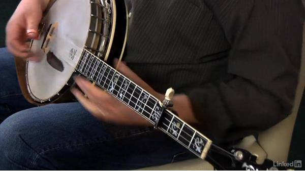 Using the capo: Part 2: Banjo Lessons with Tony Trischka: 2 Hammer-Ons and Pull-Offs