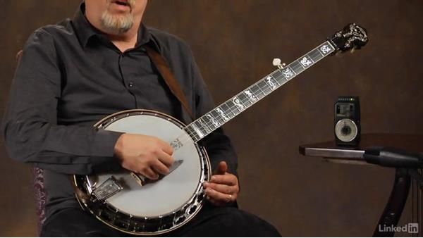 Metronome: Banjo Lessons with Tony Trischka: 2 Hammer-Ons and Pull-Offs