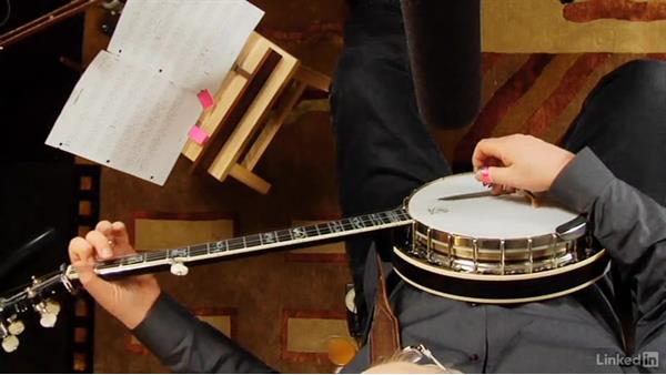 Beginning hammer-ons: Part 1: Banjo Lessons with Tony Trischka: 2 Hammer-Ons and Pull-Offs