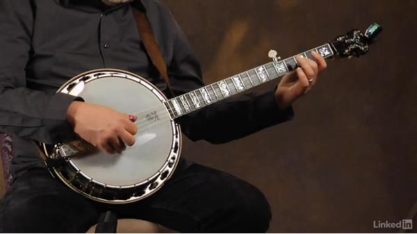 """Beginning hammer-ons: Part 2, """"Shady Grove"""": Banjo Lessons with Tony Trischka: 2 Hammer-Ons and Pull-Offs"""
