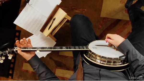 "Pull-offs: Part 3, ""The Old Cat Died"": Banjo Lessons with Tony Trischka: 2 Hammer-Ons and Pull-Offs"