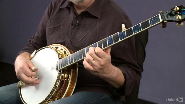"""""""The Old Cat Died"""": Up the neck: Banjo Lessons with Tony Trischka: 2 Hammer-Ons and Pull-Offs"""