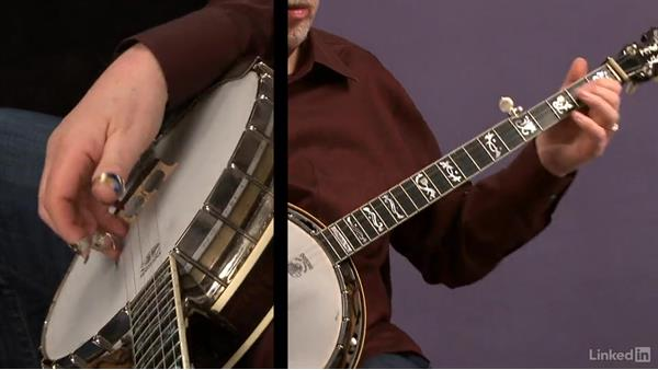 Pull-off etude: Part 1: Banjo Lessons with Tony Trischka: 2 Hammer-Ons and Pull-Offs