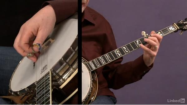 Pull-off etude: part 2: Banjo Lessons with Tony Trischka: 2 Hammer-Ons and Pull-Offs