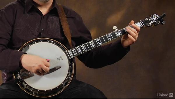 Choking the 2-3 slide: Banjo Lessons with Tony Trischka: 2 Hammer-Ons and Pull-Offs