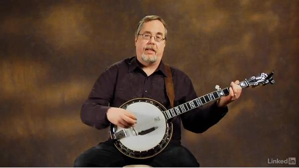 """John Hardy,"" part 3: Alternate chorus: Banjo Lessons with Tony Trischka: 2 Hammer-Ons and Pull-Offs"