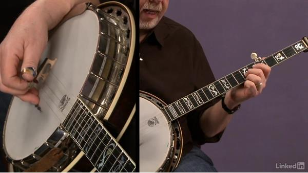 """3/4 time, """"Down in the Valley"""":  Part 2: Banjo Lessons with Tony Trischka: 2 Hammer-Ons and Pull-Offs"""