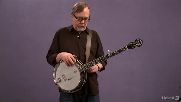 Standing position: Banjo Lessons with Tony Trischka: 2 Hammer-Ons and Pull-Offs