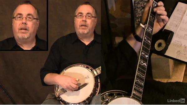 "Finding the melody, ""When the Saints Go Marching In"": Part 1: Banjo Lessons with Tony Trischka: 2 Hammer-Ons and Pull-Offs"