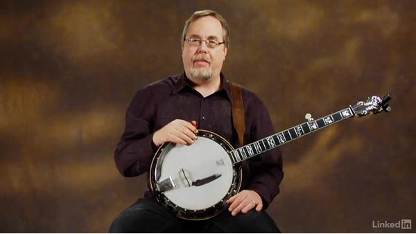 Record yourself: Banjo Lessons with Tony Trischka: 2 Hammer-Ons and Pull-Offs