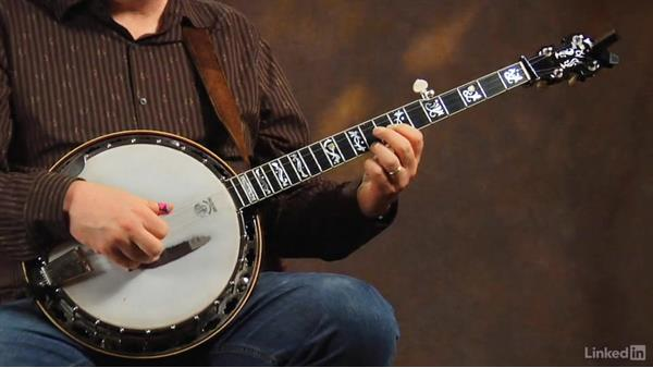 "Up the neck, part 1: ""Boil Them Cabbage Down"": Banjo Lessons with Tony Trischka: 2 Hammer-Ons and Pull-Offs"