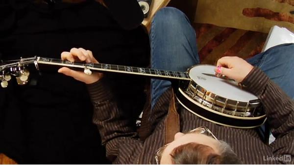 """Up the neck, part 2: """"Skip to My Lou"""": Banjo Lessons with Tony Trischka: 2 Hammer-Ons and Pull-Offs"""