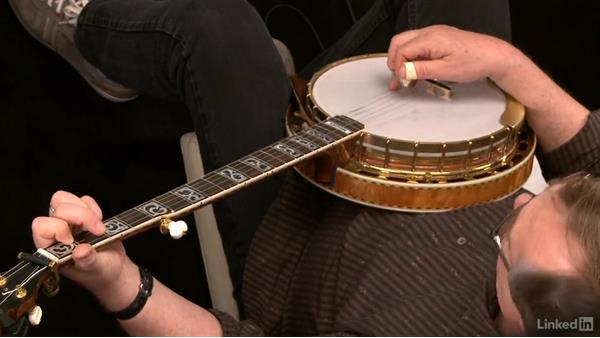 """Banks of the Ohio,"" down the neck: Part 1: Banjo Lessons with Tony Trischka: 3 Playing Songs"