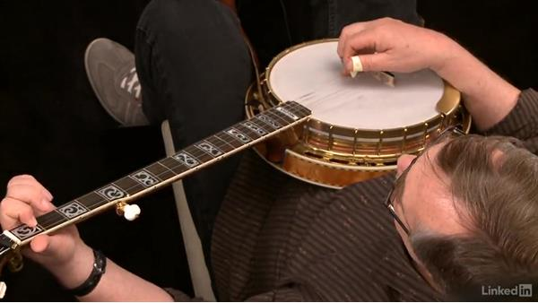 """Banks of the Ohio,"" down the neck: Part 2, variations: Banjo Lessons with Tony Trischka: 3 Playing Songs"
