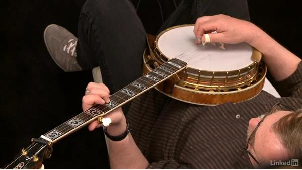 """Banks of the Ohio,"" up the neck: Part 1: Banjo Lessons with Tony Trischka: 3 Playing Songs"