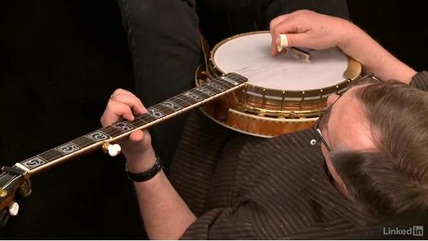 """Banks of the Ohio,"" up the neck: Part 2, variations: Banjo Lessons with Tony Trischka: 3 Playing Songs"