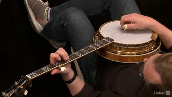 """""""Shady Grove"""" (modal): Part 2, variation: Banjo Lessons with Tony Trischka: 3 Playing Songs"""