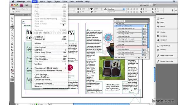 1. Customizing InDesign to claim its power: InDesign CS4: 10 Habits of Highly Effective Pros