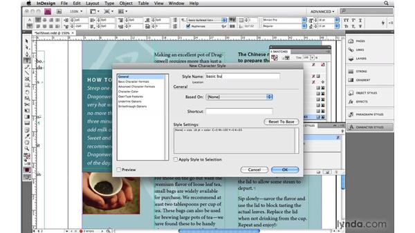 6. Working with auto bullets, nesting, and syncing to save time: InDesign CS4: 10 Habits of Highly Effective Pros