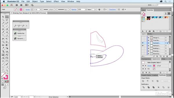 Drawing your design: Foundations of Logo Design: Illustrating Logo Marks