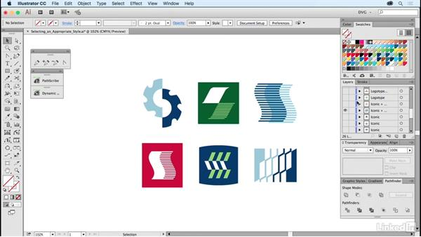 Selecting an appropriate style: Foundations of Logo Design: Illustrating Logo Marks