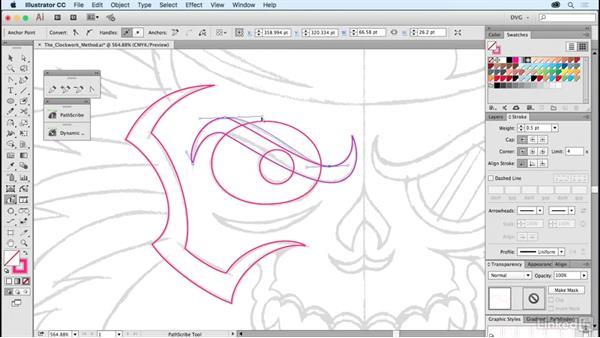 The clockwork method: Foundations of Logo Design: Illustrating Logo Marks