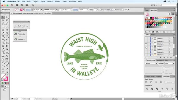 Encapsulated logo designs: Foundations of Logo Design: Illustrating Logo Marks