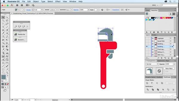 Establishing visual continuity: Foundations of Logo Design: Illustrating Logo Marks