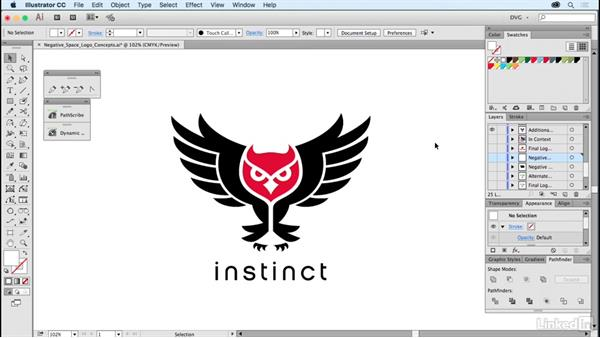 Negative space logo concepts: Foundations of Logo Design: Illustrating Logo Marks