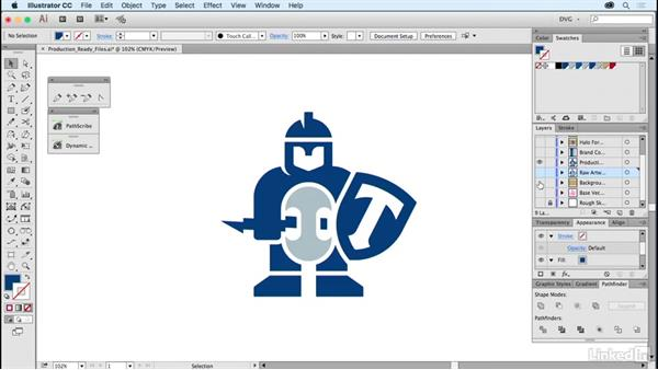 Production-ready files: Foundations of Logo Design: Illustrating Logo Marks
