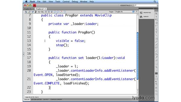 Connecting a Loader instance: Flash CS4 Professional: Building UI Elements