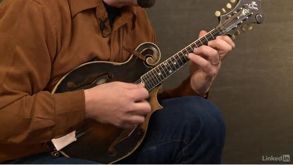Mandolin four finger mandolin chords : Scales with four fingers, part 1