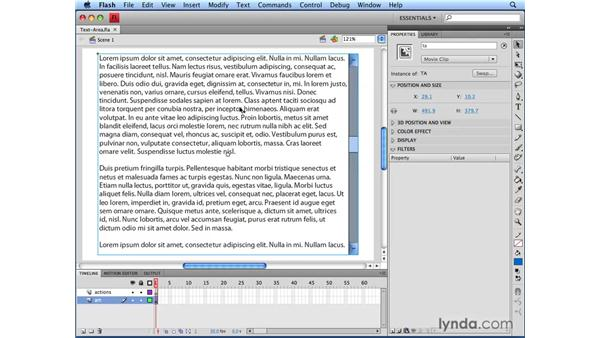 Exploring the FLA file: Flash CS4 Professional: Building UI Elements