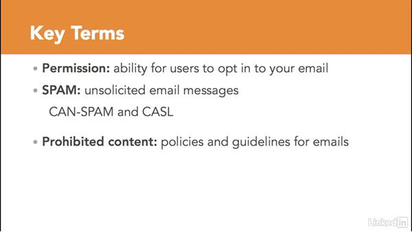Email marketing terms and rules: Managing Email Marketing Lists and Campaigns