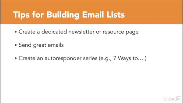 List building strategies: Managing Email Marketing Lists and Campaigns