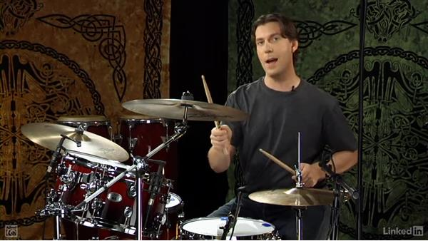 """Drum fill from """"Come As You Are"""": Drum Set Instruction: On The Beaten Path"""