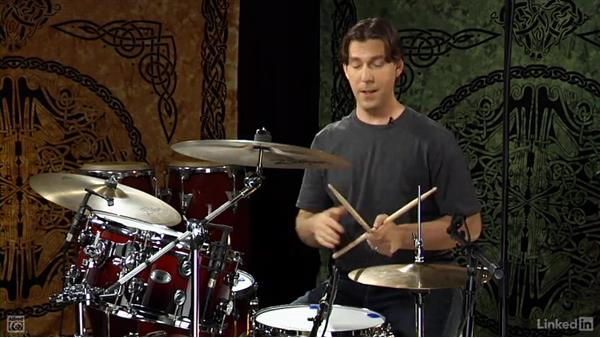 """Drum fill from """"I Won't Back Down"""": Drum Set Instruction: On The Beaten Path"""