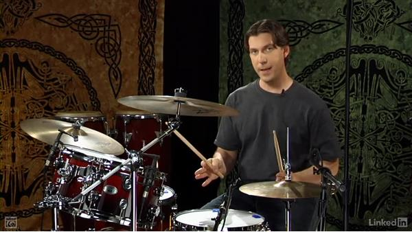 """The drag from """"Boulevard of Broken Dreams"""": Drum Set Instruction: On The Beaten Path"""