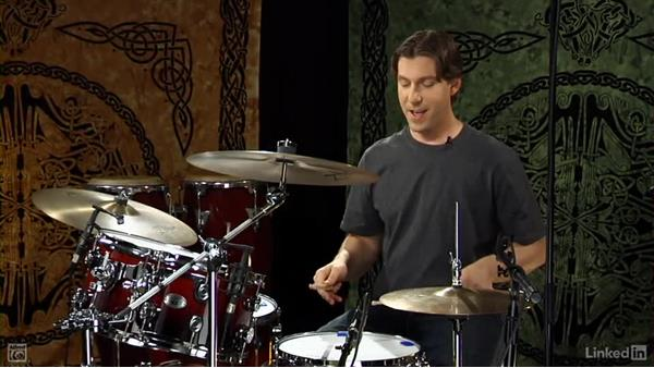 """Drum fill from """"Livin' on the Edge"""" by Aerosmith: Drum Set Instruction: On The Beaten Path"""