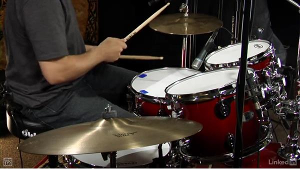 """Drum fill from """"Back in Black"""": Drum Set Instruction: On The Beaten Path"""