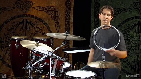 Drumhead selection: Drum Set Instruction: On The Beaten Path