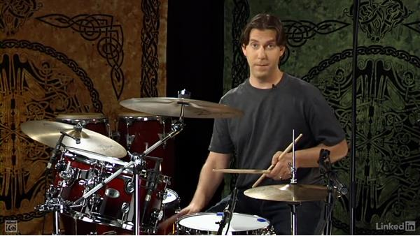 The 12/8 time signature: Drum Set Instruction: On The Beaten Path