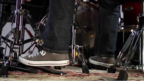 """Fills from """"You Shook Me"""" and """"Bad to the Bone"""": Drum Set Instruction: On The Beaten Path"""