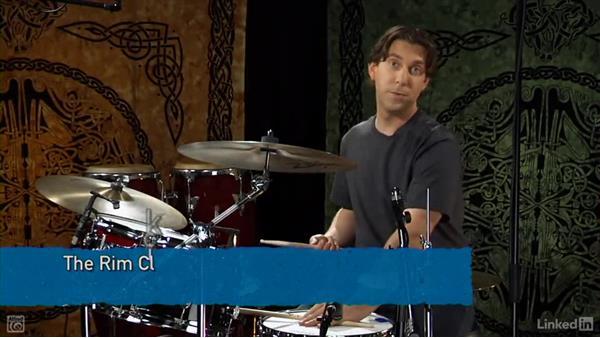 The rim click: Drum Set Instruction: On The Beaten Path