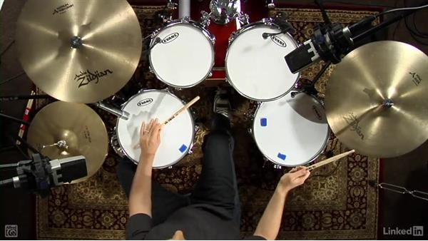 Swing notation: Drum Set Instruction: On The Beaten Path