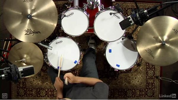 Skip pattern: Drum Set Instruction: On The Beaten Path