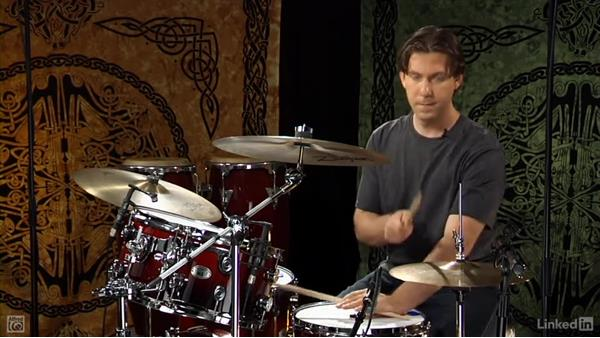 One measure repeat: Drum Set Instruction: On The Beaten Path