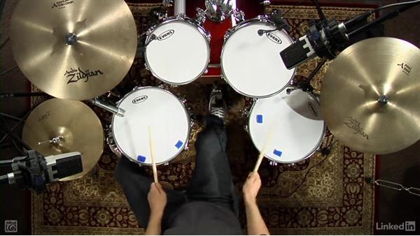 Buzz strokes: Drum Set Instruction: On The Beaten Path